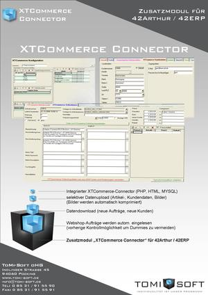 XTCommerce-Connector für 42ERP/42Arthur